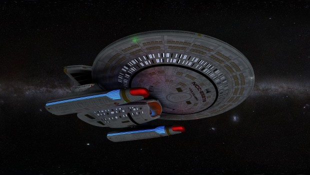 Starfleet relaunches USS Columbia after major refit