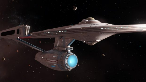 Constitution-class Vessel USS Ahwahnee Discovered Near Klingon Federation Border